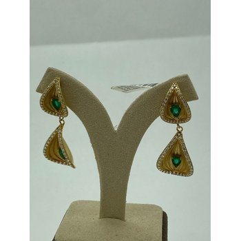 Emerald Fashion Earrings