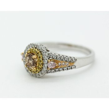 Chocolate Diamond Statement Ring