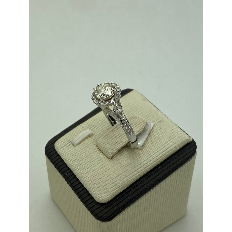 Jewelry Couture Exclusives 1.03CT Diamond Engagement Ring
