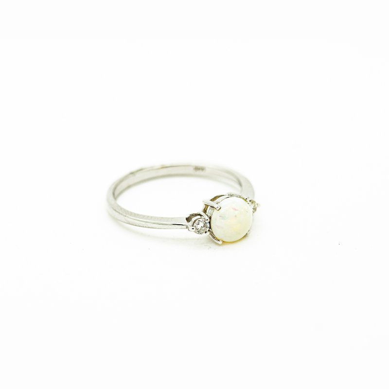 Jewelry Couture Exclusives Dainty Opal October Birthstone Ring