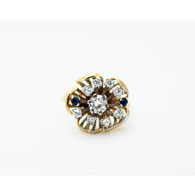 Estate Jewelry Estate Flower Ring