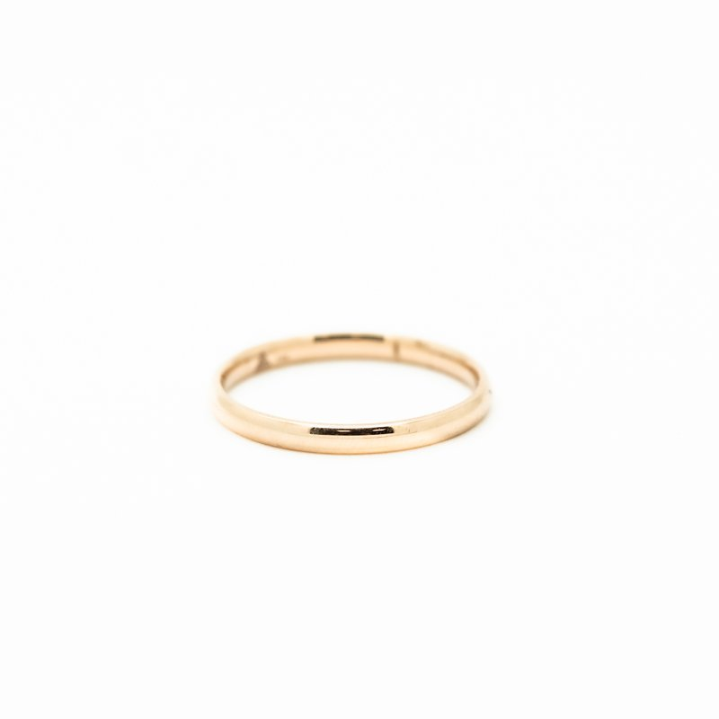 Jewelry Couture Exclusives 14k Rose Gold Comfort Fit 2mm Band