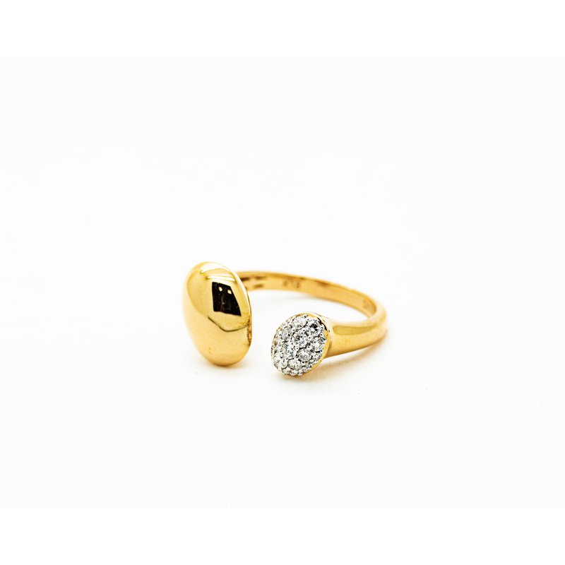 Jewelry Couture Exclusives Contemporary Droplet Ring