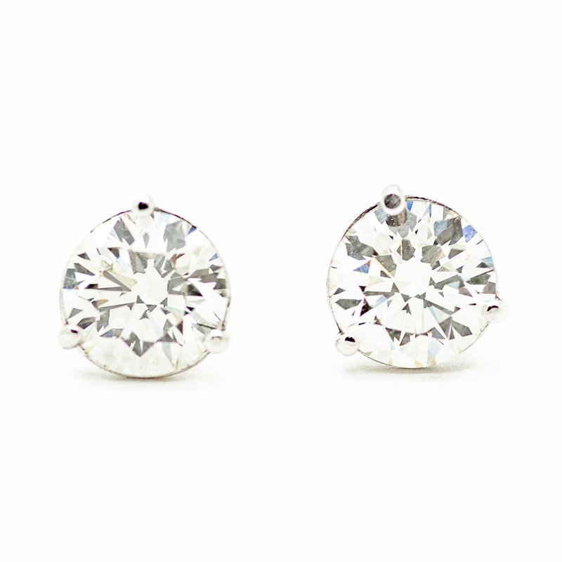 Jewelry Couture Exclusives 2.05ct Lab Grown Diamond Studs