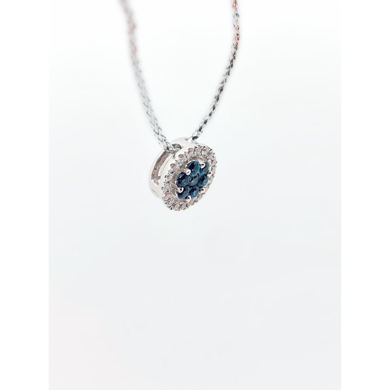 Jewelry Couture Exclusives Sapphire Cluster Pendant