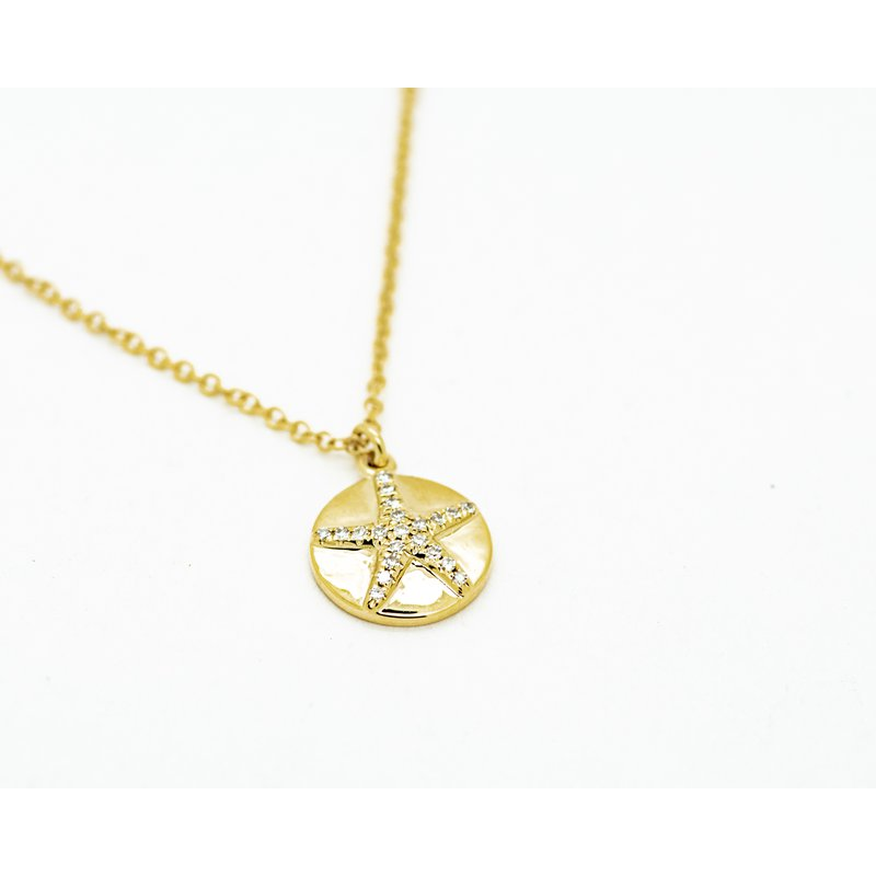 Jewelry Couture Exclusives Sand Dollar Charm Necklace