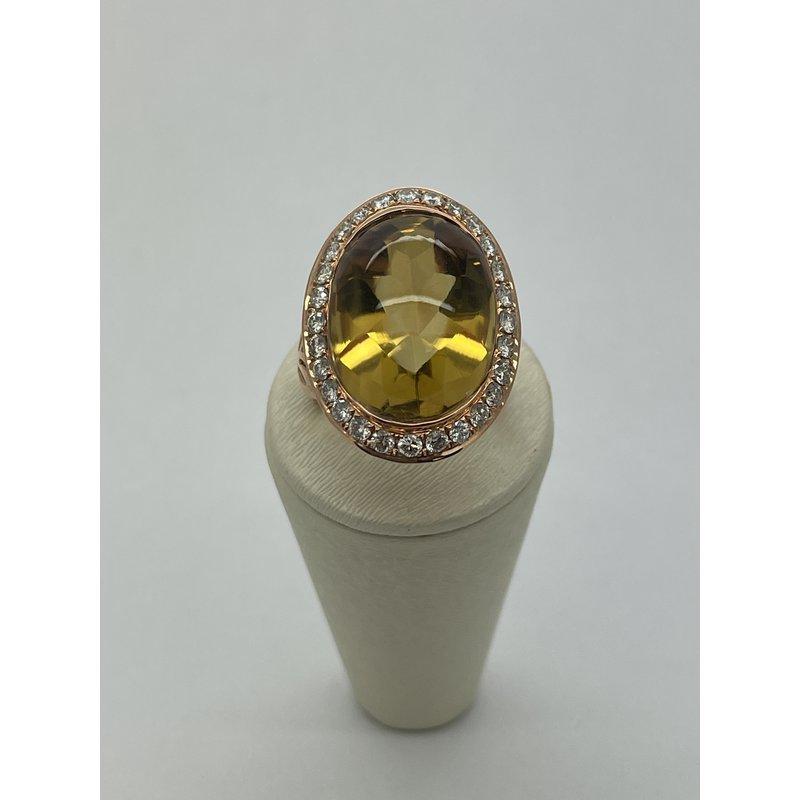 Jewelry Couture Exclusives 20K Quartz Ring