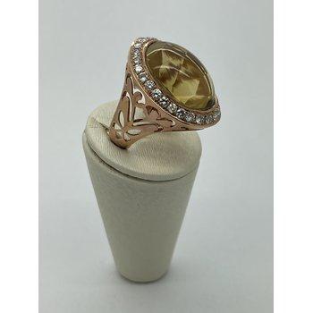 20K Quartz Ring