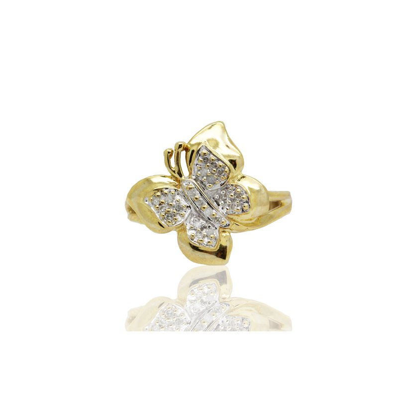 Estate Jewelry Butterfly Ring