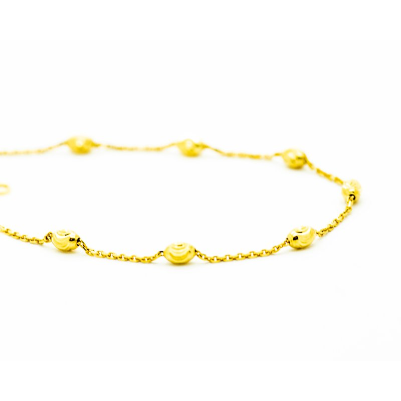 Jewelry Couture Exclusives 14k Yellow Gold Beaded Bracelet