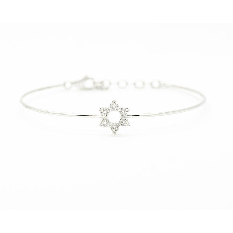 Jewelry Couture Exclusives Diamond Star of David Bracelet