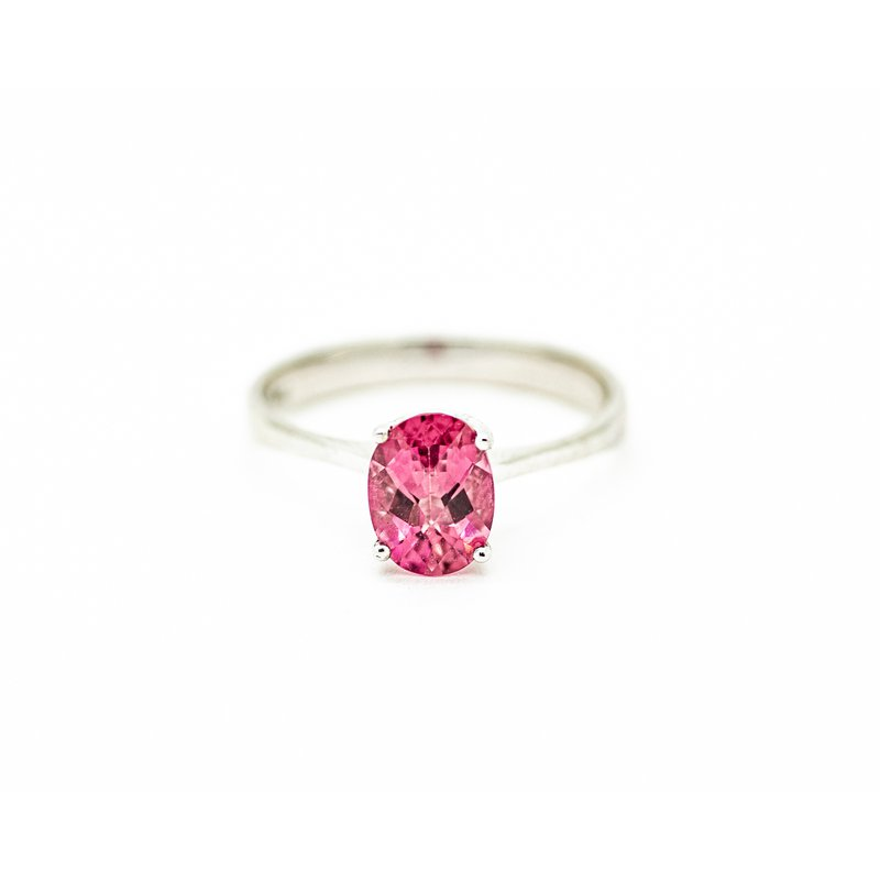 Jewelry Couture Exclusives Solitaire Pink Tourmaline Birthstone Ring