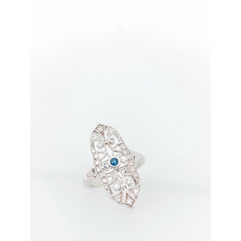 Jewelry Couture Exclusives Sapphire Shield Ring