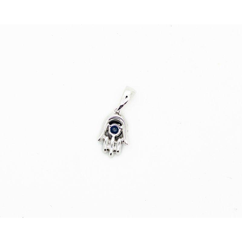 Jewelry Couture Exclusives Petite Sapphire Hamsa Pendant