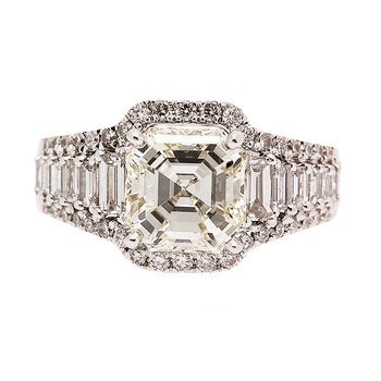 Exquisitely Handcrafted Engagement Ring