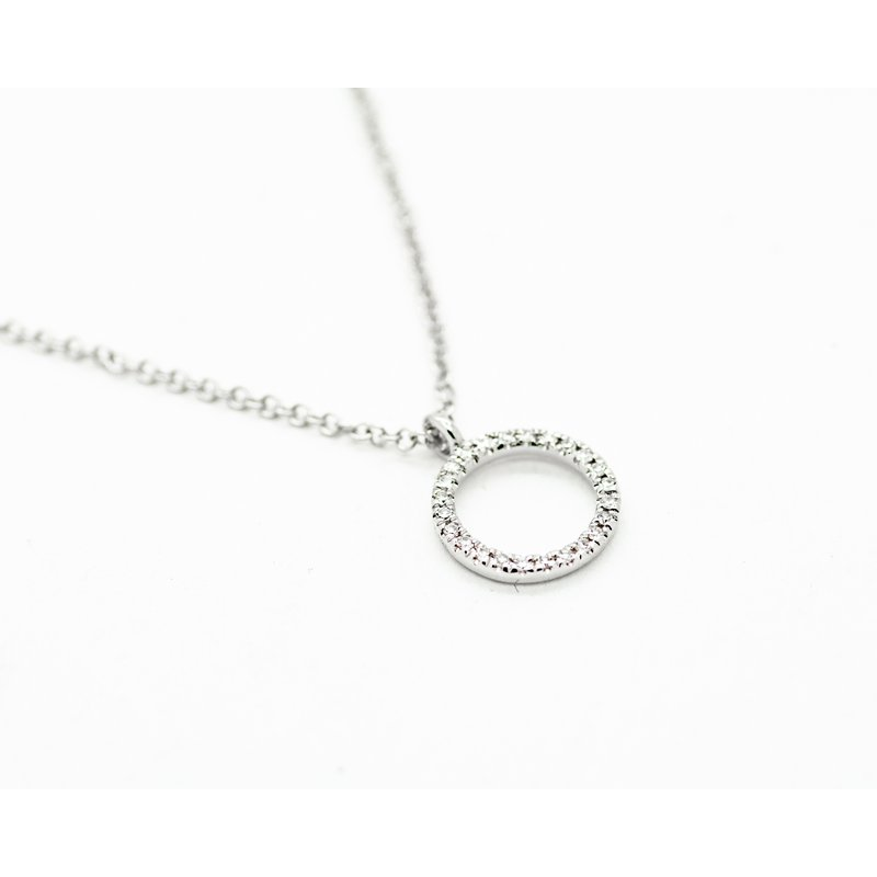 Jewelry Couture Exclusives Eternity Ring Diamond Necklace