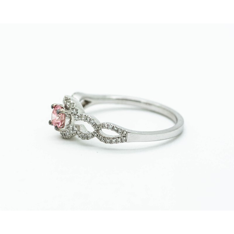 Jewelry Couture Exclusives Pink Diamond Engagement Ring