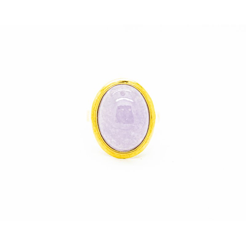 Jewelry Couture Exclusives Lavender Jade Ring