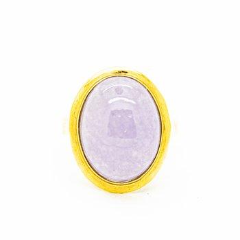 Lavender Jade Ring