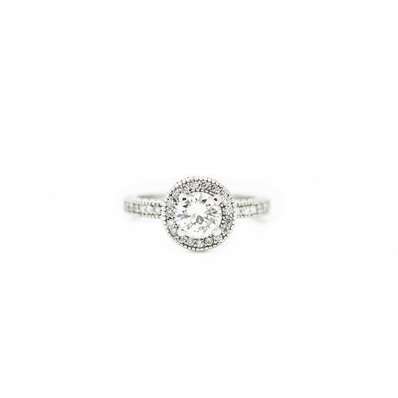 Jewelry Couture Exclusives 0.85ct Diamond Engagement Ring