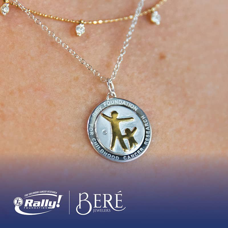 Rally Foundation for Childhood Cancer Research Rally Foundation Pendant