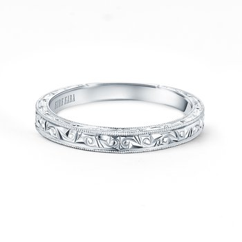 Home Try On Engraved Vintage Inspired Replica Wedding Band