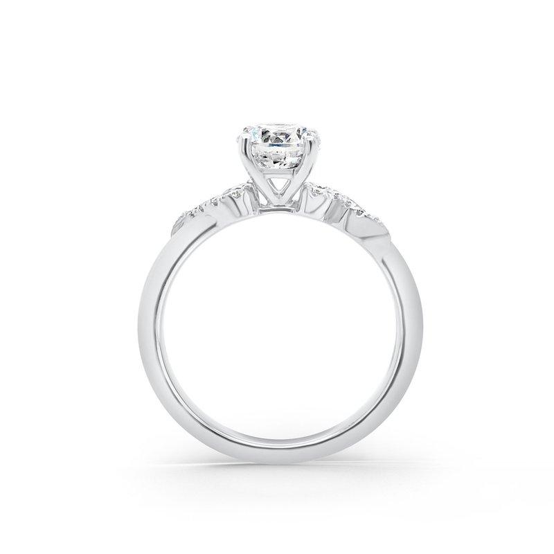 Whimisical Diamond Engagement Ring