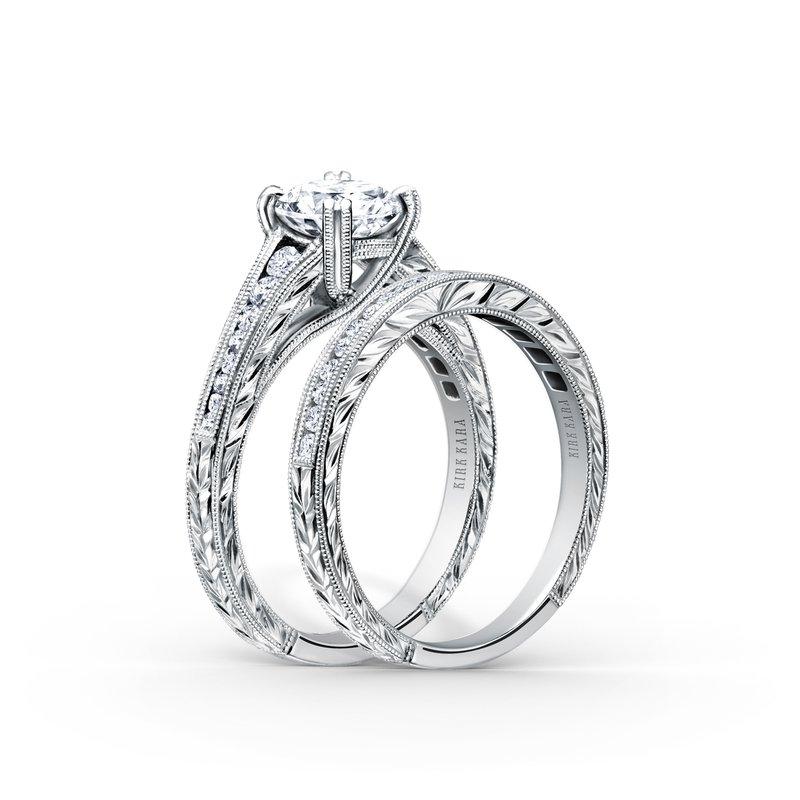 Milgrain Timeless Diamond Engagement Ring