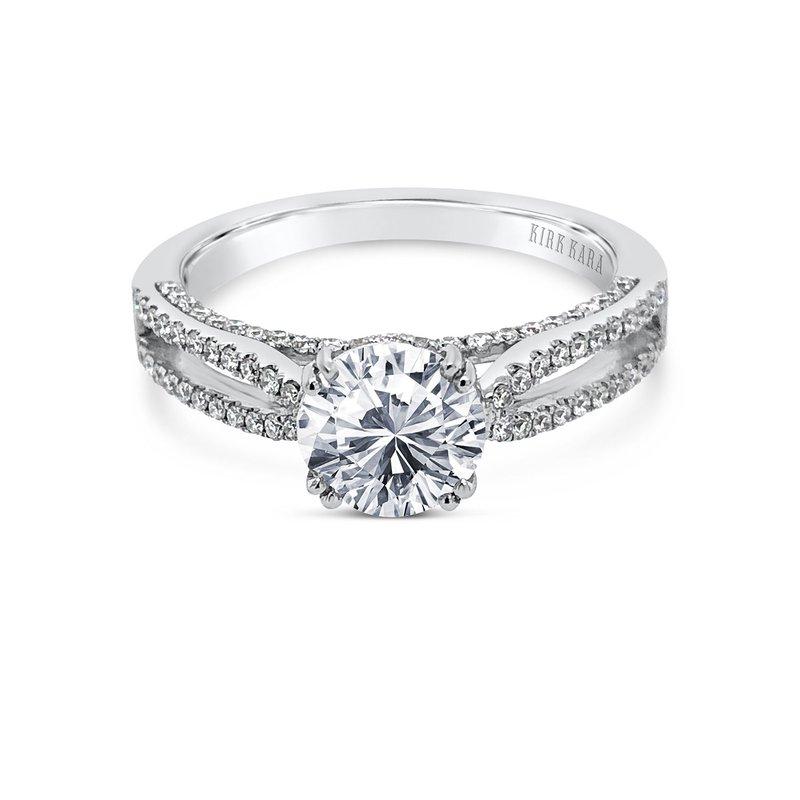 Split Shank Classic Diamond Engagement Ring