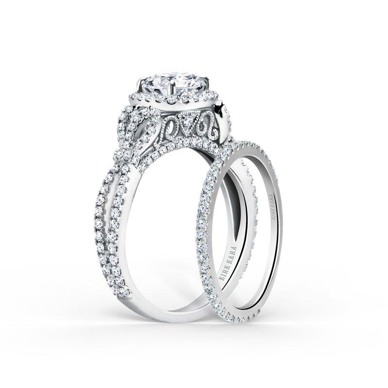 Simple Stackable Diamond Wedding Band