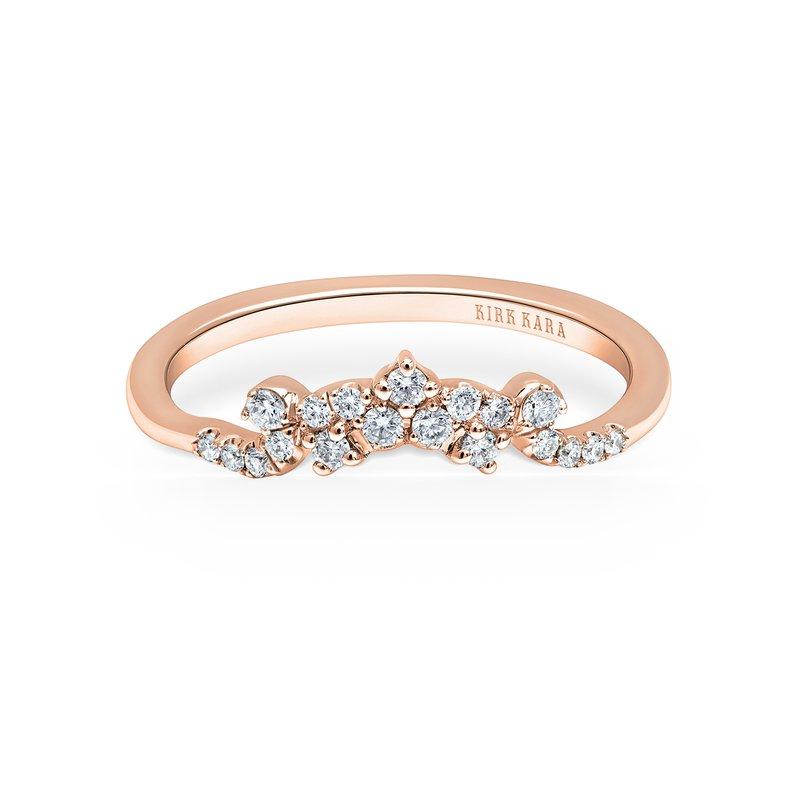 Crown Delicate Diamond Wedding Band