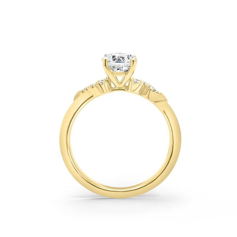 Romantic Diamond Engagement Ring