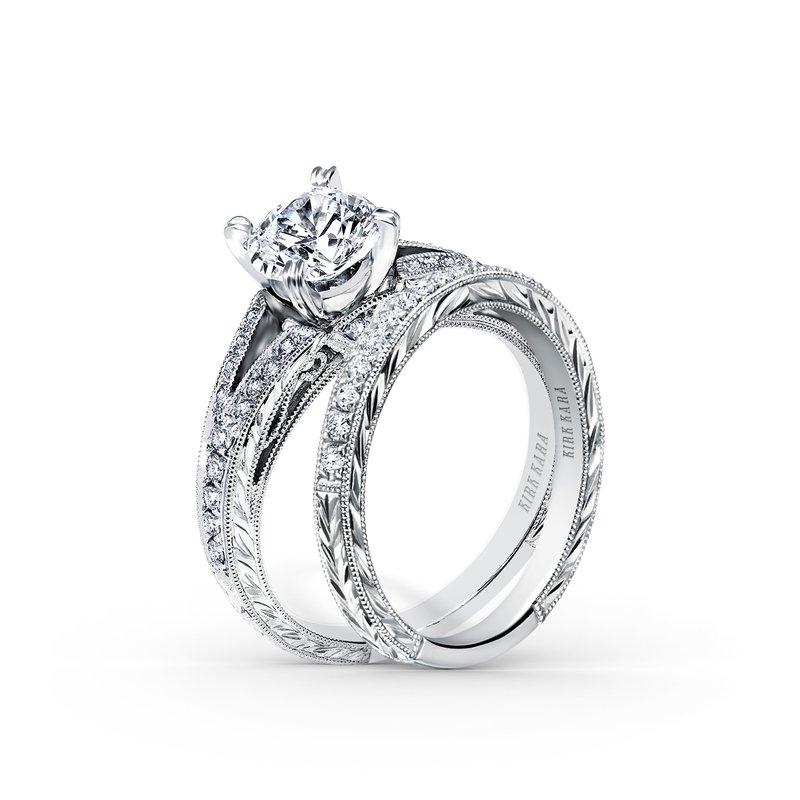 Split Shank Timeless Diamond Engagement Ring