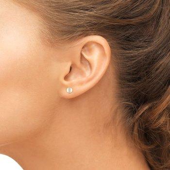 Diamond Token Earrings