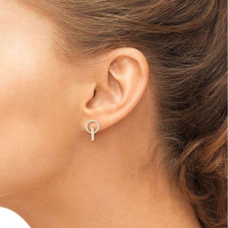 Barbela Design Diamond Elson Earrings