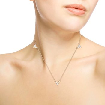 Diamond Stevie Necklace