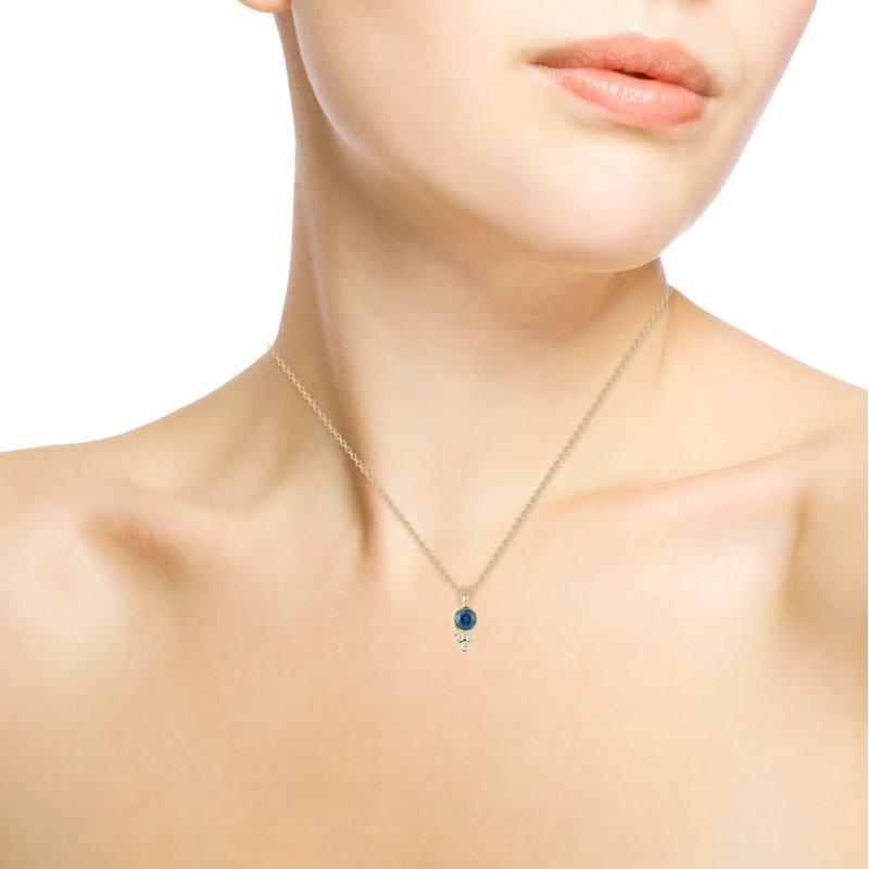 Barbela Design Sapphire Ryder Necklace