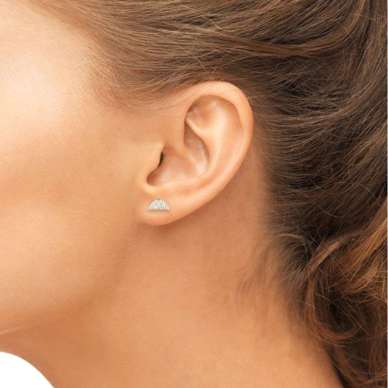 Barbela Design Diamond Luna Earrings