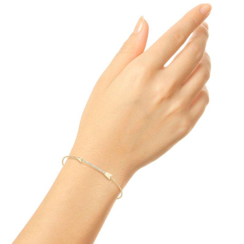 Barbela Design Diamond Arrow Bracelet