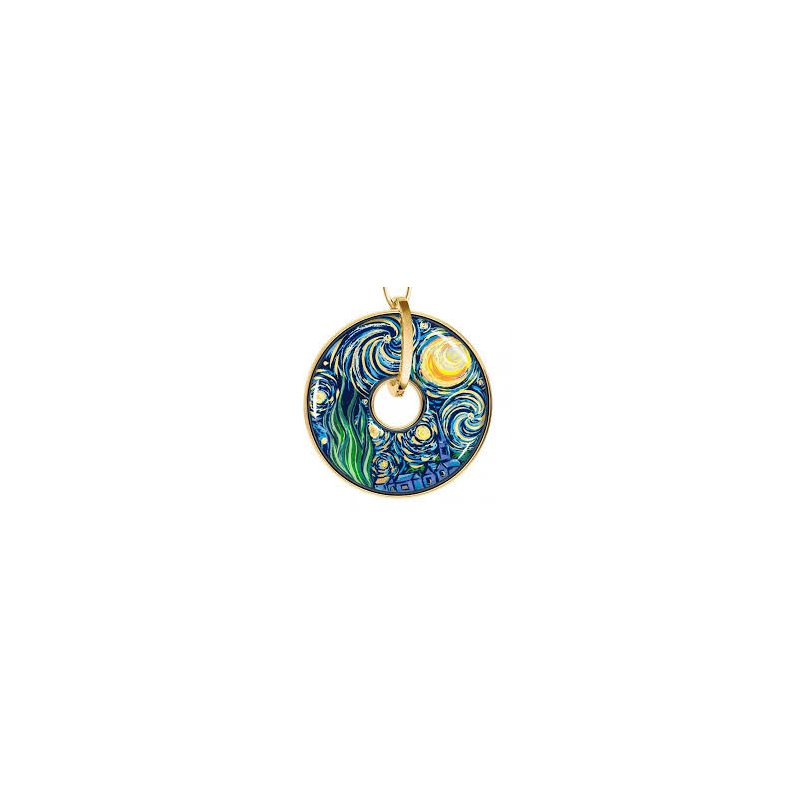 Freywille FreyWille Van Gogh luna pendant. Available at our Halifax store.