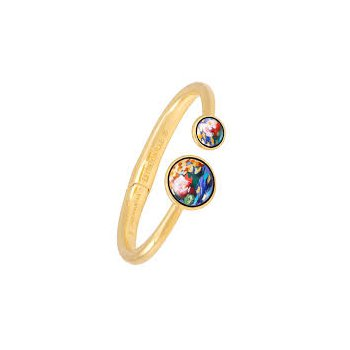 FreyWille Claude Monet double circle clasp bangle, size M. Available at our Halifax store.