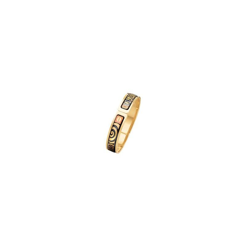 Freywille FreyWille hommage a Gustav Klimt Adele Bloch-Bauer ballerina bangle, size M. Available at our Halifax store.