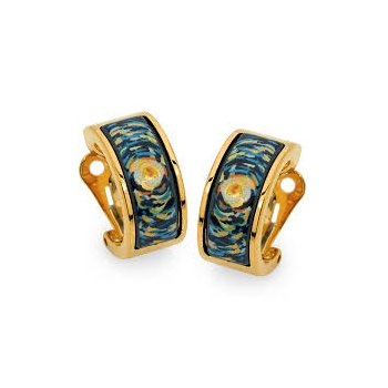FreyWille Van Gogh ohrschmuck mini creole earrings. Available at our Halifax store.