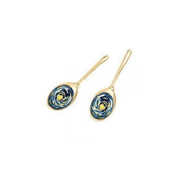 FreyWille Van Gogh teardrop earrings, VG3. Available at our Halifax store.