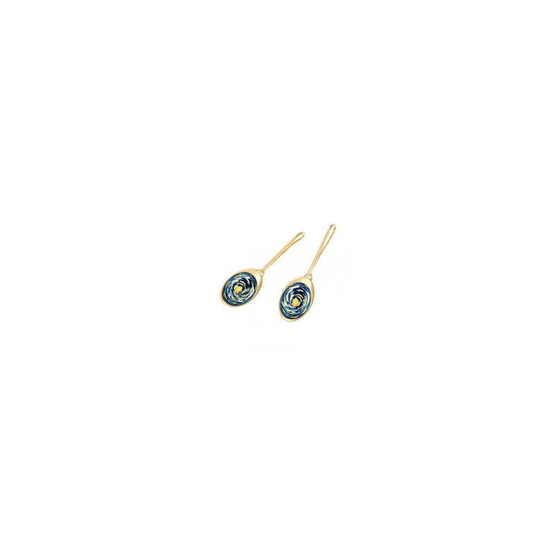 Freywille FreyWille Van Gogh teardrop earrings, VG3. Available at our Halifax store.