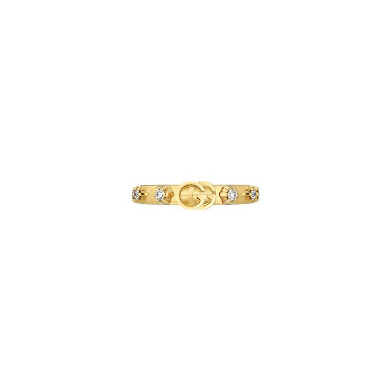 Gucci Gucci 18kt Running G ring, XS 0.30ct diamonds, Available at our Halifax store.