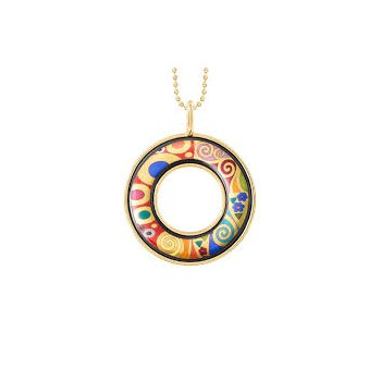 FreyWille Gustav Klimt hope helena pendant. Available at our Halifax store.