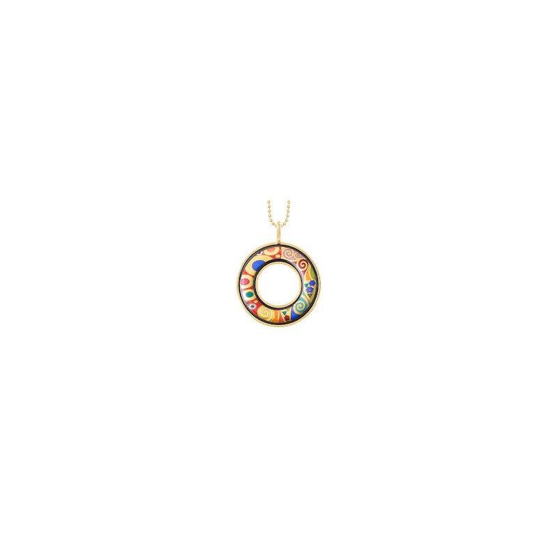 Freywille FreyWille Gustav Klimt hope helena pendant. Available at our Halifax store.