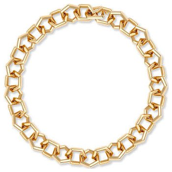"Birks Bee Chic Small Link Bracelet 18Kt Yg 8"""