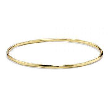 Ippolita 18kt Classico thin faceted bangle. Available at our Halifax store